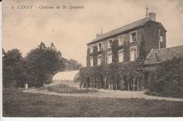 CINEY CHATEAU DE ST QUENTIN - Ciney