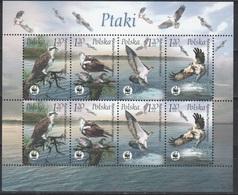 Poland 2003 Polen Mi 4079-4082klb Worldwide Conservation: Osprey / Weltweiter Naturschutz: Fischadler **/MNH - Neufs
