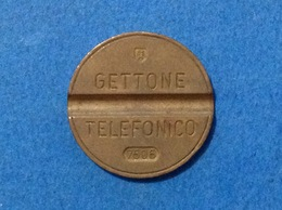 1975 ITALIA TOKEN GETTONE TELEFONICO SIP USATO 7506 - Altri