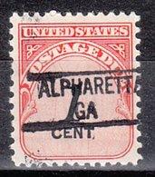 USA Precancel Vorausentwertung Preo, Locals Georgia, Alpharetta 841 - Vereinigte Staaten