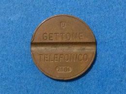 1975 ITALIA TOKEN GETTONE TELEFONICO SIP USATO 7501 - Altri