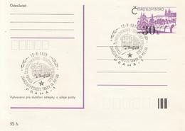 CZECHOSLOVAKIA Postal Stationery 2,trains - Trains