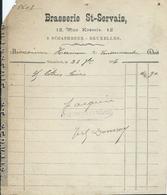 BRASSERIE ST SERVAIS 12 RUE KESSELS SCHAERBEEK - Belgique