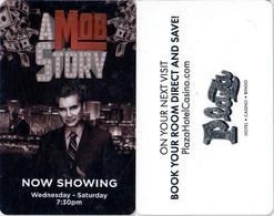 Plaza A Mob Story - 2441---   Key Card, Room Key, SchLusselkarte, NEW -- 2441 - Cartes D'hotel
