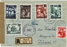 1953, Seltener Satz-Brief   , #9209 - 1945-60 Briefe U. Dokumente