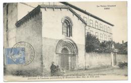 CPA ANIMEE ST PAULIEN, ANIMATION DEVANT LE COUVENT DE ST JOSEPH ET SA CHAPELLE, HAUTE LOIRE 43 - France