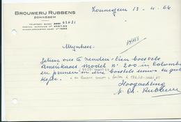 BROUWERIJ RUBBENS - ZONNEGEM - Belgique