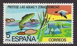 Spain 1978 - Environmental Protection, Water, Fish, Birds MNH - 1931-Tegenwoordig: 2de Rep. - ...Juan Carlos I