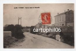 - CPA SAINT-VICTORET (13) - Entrée, Route De Marseille 1918 - Collection L. A. - - France