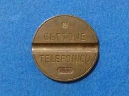 1974 ITALIA TOKEN GETTONE TELEFONICO SIP USATO 7404 - Altri
