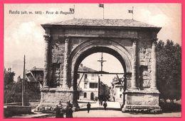Aosta - Arco Di Augusto - Aoste - Arc D'Auguste - Animée - Aosta