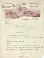 BRASSERIES MALTERIES MERLO ET LINKEBEEK REUNIES - MERLINK - LINKEBEEK - 1900 – 1949