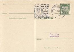 GERMANY Bundes Postal Stationery 4,trains - Trains