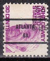 USA Precancel Vorausentwertung Preo, Bureau Georgia, Atlanta 1291-81, Dated - Vereinigte Staaten