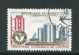 CONGO- Y&T N°239- Oblitéré - Congo - Brazzaville