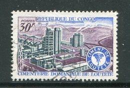 CONGO- Y&T N°242- Oblitéré - Congo - Brazzaville