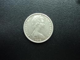 NOUVELLE ZÉLANDE : 5 CENTS   1975   KM 34.1     SUP - Nouvelle-Zélande