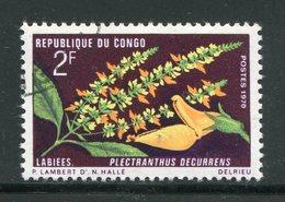 CONGO- Y&T N°269- Oblitéré (fleurs) - Congo - Brazzaville