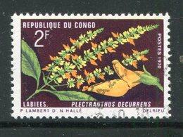 CONGO- Y&T N°269- Oblitéré (fleurs) - Oblitérés