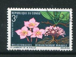 CONGO- Y&T N°270- Oblitéré (fleurs) - Oblitérés