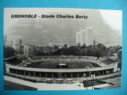 Stade Charles Berty Grenoble 38 Isère Stadium Stadio Stadion Estadio Carte Récente - Grenoble