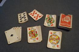 RARE Très Ancien Jeux De Carte Boule D'Or Cigarette,24 Cartes,voir Photos, Pour Collection - Cartes