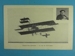 Grande Fête D'Aviation Un Vol De Christiaens - Reuniones