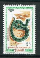 CONGO- Y&T N°289- Oblitéré (serpent) - Congo - Brazzaville