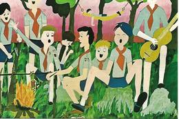 B108 - BIENNALE MONDIALE D'ARTE SCOUT - ARCO 15.12.1988 - N° 15-84 - ANNULLO SPECIALE - Scoutismo