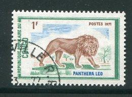 CONGO- Y&T N°318- Oblitéré (lions) - Congo - Brazzaville