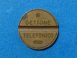 1972 ITALIA TOKEN GETTONE TELEFONICO SIP USATO 7206 - Altri