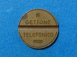 1972 ITALIA TOKEN GETTONE TELEFONICO SIP USATO 7206 - Italia