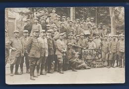 Carte Photo   Militaire  Stage Mécanicien - Characters