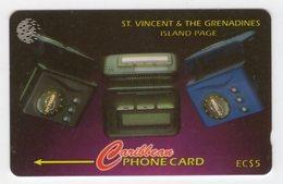SAINT VINCENT Et GRENADINES REF MVCARDS STV-221B CABLE & WIRELESS 1998 5$ Island Page CN 221CSVB - St. Vincent & The Grenadines