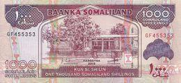 SOMALILAND 1000 SHILLINGS 2015 UNC P 20 - Somalia