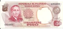 PHILIPPINES 50 PISO ND1969 UNC P 146 B - Philippines