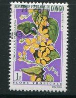 CONGO- Y&T N°283- Oblitéré (fleurs) - Congo - Brazzaville