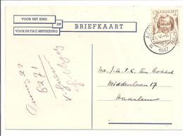 HC457 Enkel.Locale Briefkaart.Aerdenhout 31.5.47 - Periode 1891-1948 (Wilhelmina)