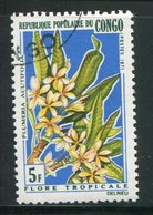 CONGO- Y&T N°285- Oblitéré (fleurs) - Congo - Brazzaville