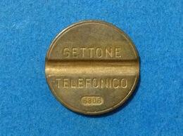 1968 ITALIA TOKEN GETTONE TELEFONICO SIP USATO 6806 - Altri