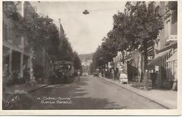 Cpsm  14X9 Cm      3/   63    Chatel-guyon      Avenue Baraduc - Châtel-Guyon