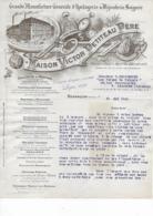 25.- BESANÇON .- Maison Victor PETITEAU .- Grande Manufacture D' Horlogerie - Old Professions