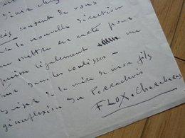 FIX MASSEAU Peintre - Autographes