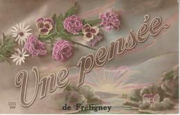 70 - FRETIGNEY - Une Pensée De Frétigney - Other Municipalities