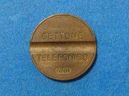 1967 ITALIA TOKEN GETTONE TELEFONICO SIP USATO 6701 - Altri