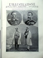 L'illustrazione Italiana 1 Settembre 1912 Balcani Zuara Misrata Gaetano Previati - Libri, Riviste, Fumetti