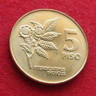 Philippines 5 Peso 1991 Unc - Philippines