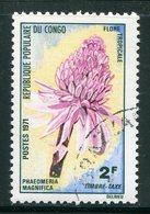CONGO- Taxe Y&T N°47- Oblitéré (fleurs) - Congo - Brazzaville