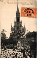76 .. PELERINAGE DE BON SECOURS .. LA VIERGE ET LA PROCESSION .. 1923 - Bonsecours