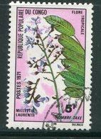 CONGO- Taxe Y&T N°48- Oblitéré (fleurs) - Oblitérés